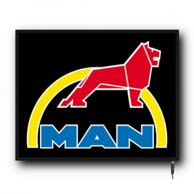 MAN Range of Cab Logo's